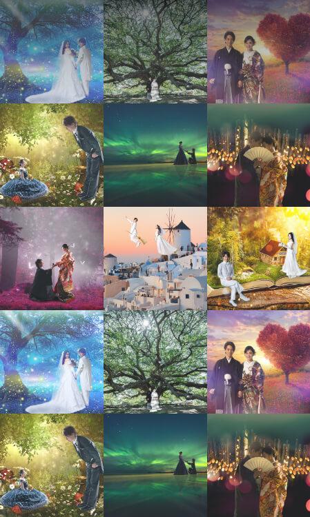 憧れのあのシーン<br /> 夢見た世界が前撮りアートで叶います<br />